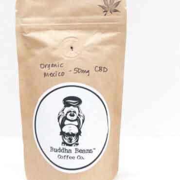 2oz Sampler Organic Mexican CBD Coffee Beans 1