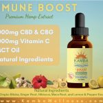 1000mg CBD/CBG Broad Spectrum Immune Boost 3